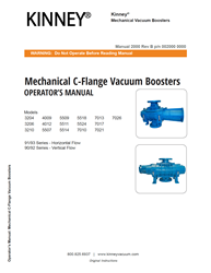 2000 Vacuum Booster 3200-7000 C-Flange Series Manual