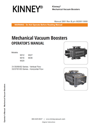 2001 Vacuum Booster 9000 Series Manual