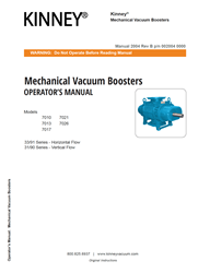 2004 Vacuum Booster 7000 Series Manual